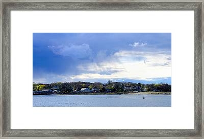 Scituate, Ma Framed Print by Soon Ming Tsang