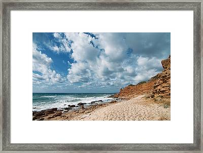 Framed Print featuring the photograph Scivu by Laura Melis