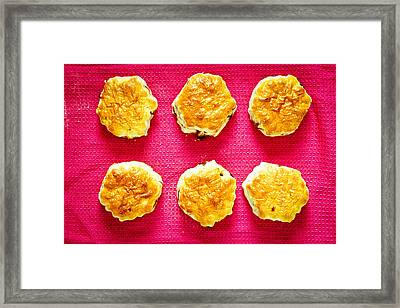 Scones Framed Print by Tom Gowanlock
