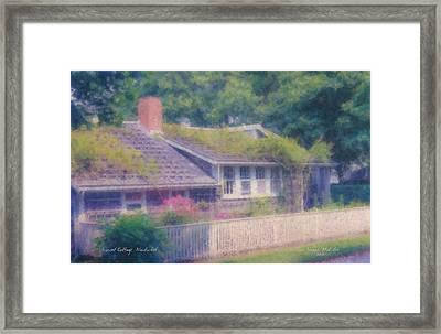 Sconset Cottage #3 Framed Print