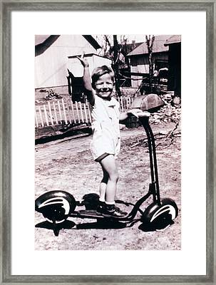 Scooter 1941 Framed Print by Don Wolf