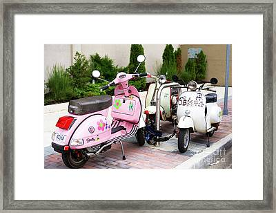 Scooter Club Framed Print