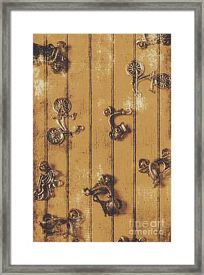 Scooter Shed  Framed Print by Jorgo Photography - Wall Art Gallery