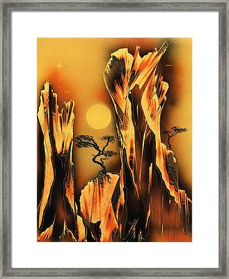 Scorcher Framed Print by Jason Girard