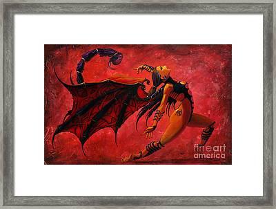 Scorpio Framed Print