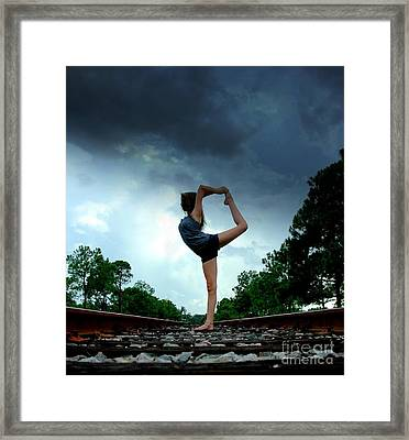 Scorpion Framed Print by Alexa Gurney