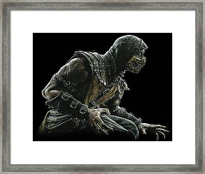 Scorpion Framed Print