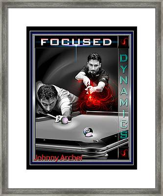 Scorpion Johnny Archer Framed Print by Draw Shots