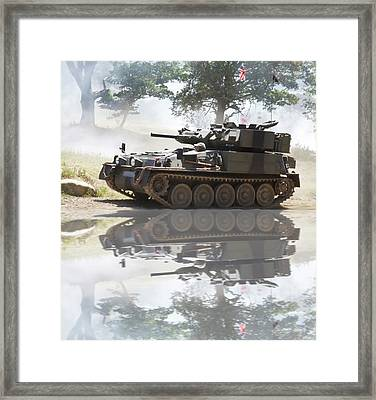 Scorpion Reflection Framed Print by Christopher Rowlands