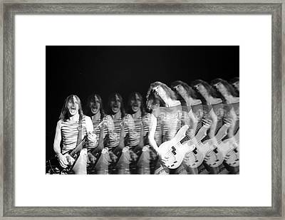 Scorpions Framed Print by Sue Arber