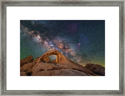 Scorpius And Its Arch Framed Print