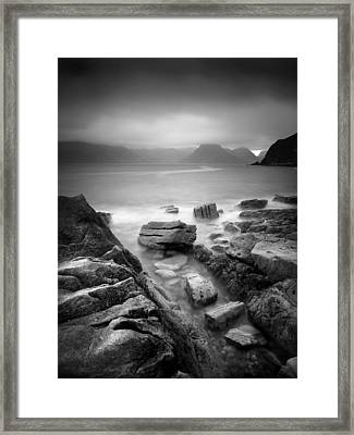Scotland Elgol Framed Print by Nina Papiorek