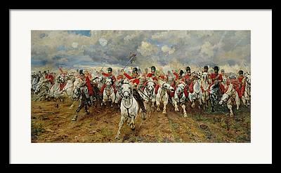 Regiment Framed Prints