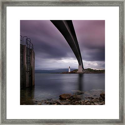 Scotland Skye Bridge Framed Print