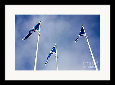 Scotland The Brave Framed Prints