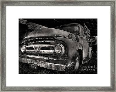 Scotopic Vision 6 - 53 Ford Framed Print