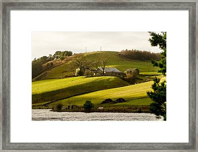 Scots' Pastoral. Framed Print