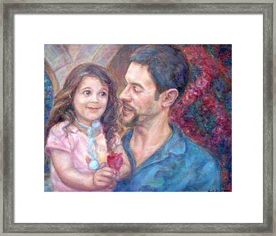 Scott And Sam Commission Framed Print
