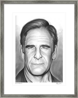 Scott Bakula Framed Print