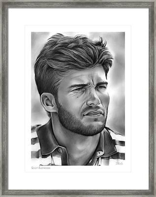 Scott Eastwood Framed Print