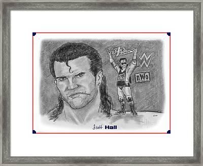 Scott Hall Framed Print
