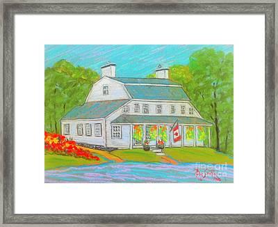 Scott Manor House  Framed Print