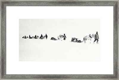 Scott Of The Antarctic Framed Print by Robert Falcon Scott