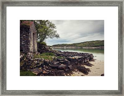 Scottish Boat House Framed Print