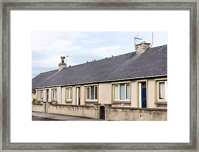 Scottish Bungalows Framed Print