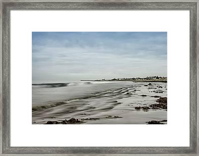 Scottish Coast Framed Print by Sam Smith