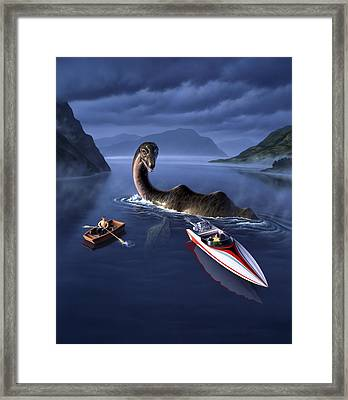Scottish Cuisine Framed Print by Jerry LoFaro