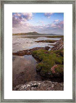 Scottish Evening Light Framed Print