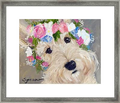 Scottish Flowers Framed Print