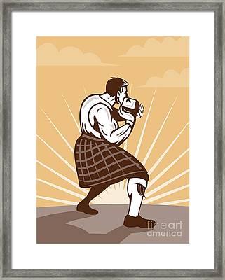 Scottish Games Framed Print by Aloysius Patrimonio