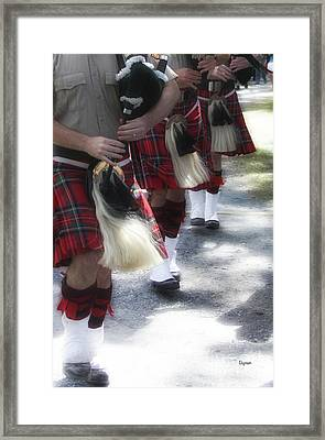 Scottish Pipers  Framed Print