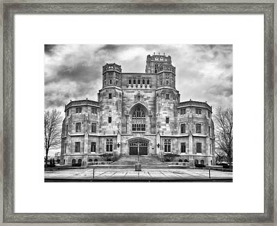 Framed Print featuring the photograph Scottish Rite Cathedral by Howard Salmon