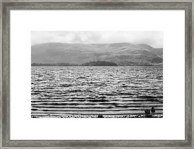 Framed Print featuring the photograph Scottish Shores by Christi Kraft
