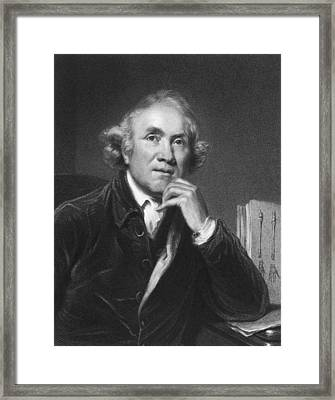 Scottish Surgeon John Hunter Framed Print