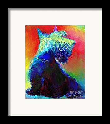 Scottish Terrier Framed Prints