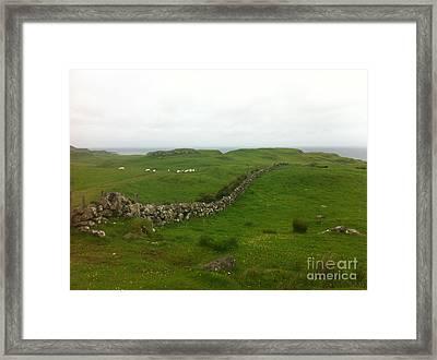 Scottish Wall Framed Print