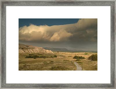 Scottsbluff.. Framed Print