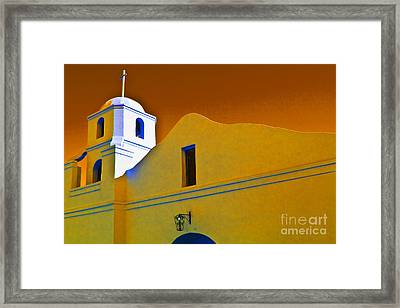 Scottsdale Mission Framed Print