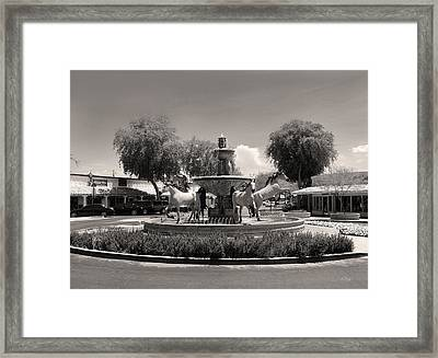 Scottsdale Spirit Framed Print by Gordon Beck