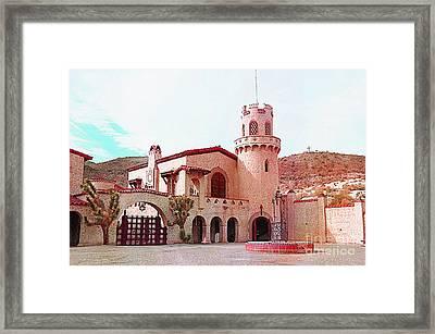 Scotty's Castle Framed Print