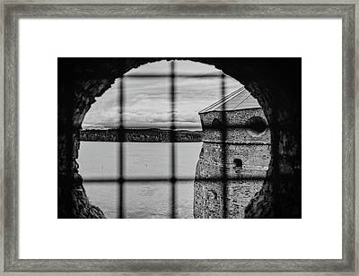Scouting For The Enemy Framed Print