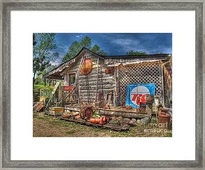 Scrap House Framed Print