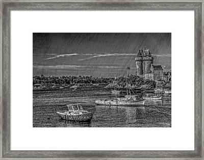 Framed Print featuring the photograph Scratched Solidor by Karo Evans