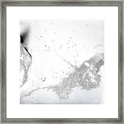 Scratches Framed Print by Alejandro Santafe