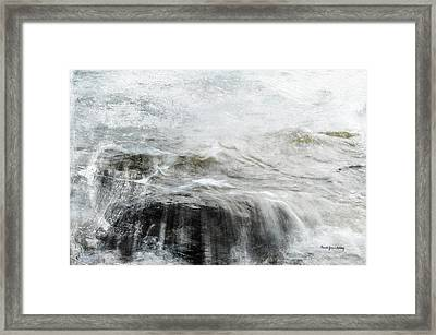 Scratching The Surface Framed Print by Randi Grace Nilsberg