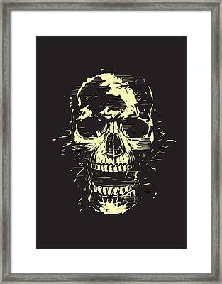Scream Framed Print by Balazs Solti